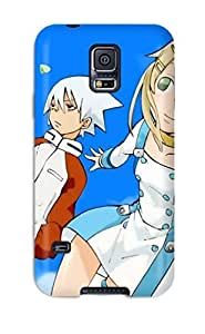 New Style NikRun Soul Eater Maka And Soul Premium Tpu Cover Case For Galaxy S5