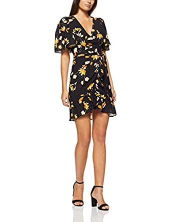 Cooper St Women's Sunrise Tie Waist Mini Dress Sunrise Tie Waist Mini Dress, Print, 10