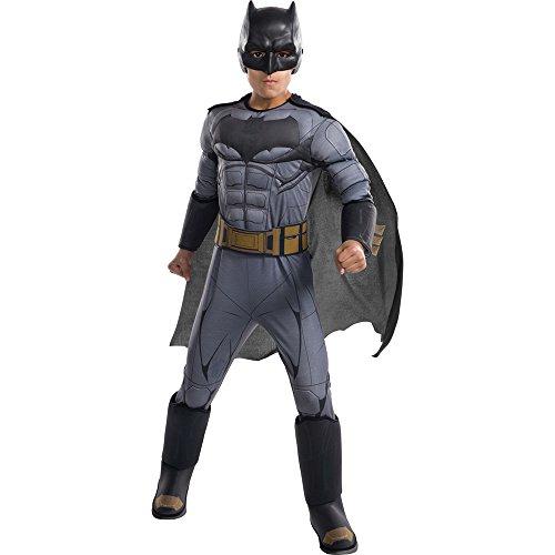 Rubie's Costume Boys Justice League Deluxe Batman Costume, Medium, ()