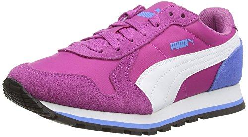 Puma ST Runner NL Jr Unisex-Kinder Sneakers Pink (meadow mauve-white-marina blue 07)