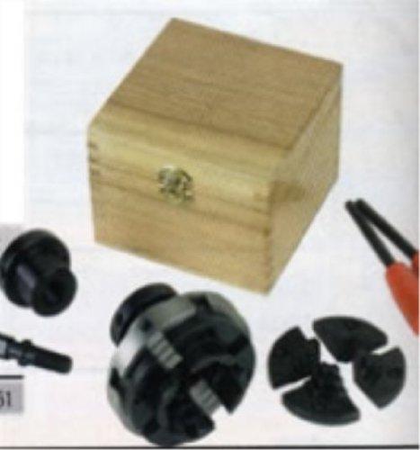 Fartools 113701 Bohrfutter, 4 Backen, Öffnung 10-63mm