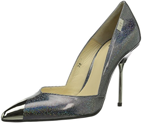 P1 145 bpm Damen Pumps Silber (holographic dots)