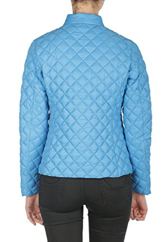 SAVE THE DUCK Damen Daunenjacke Mantel blau blau 38