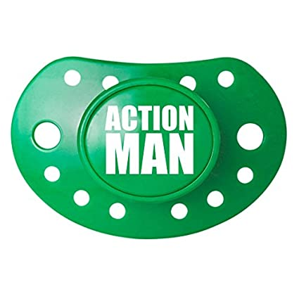 Action Man Cool bebé chupetes/chupete: Amazon.es: Bebé