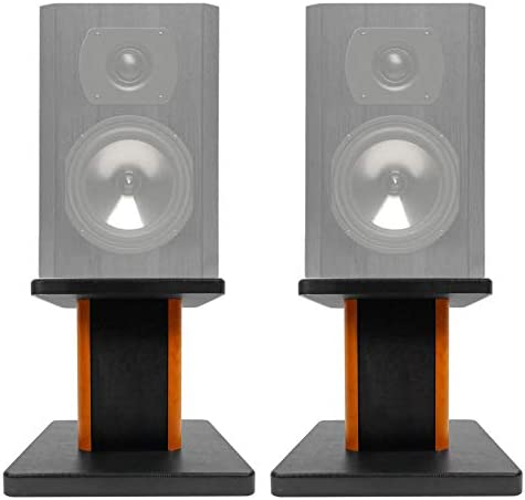 2 8 Wood Bookshelf Speaker Stands for Boston Acoustics CS23 Bookshelf Speakers