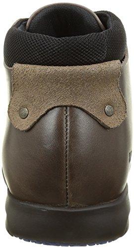 Birkenstock Estevan, Zapatos de Vestir para Hombre Negro (Black/Iron)