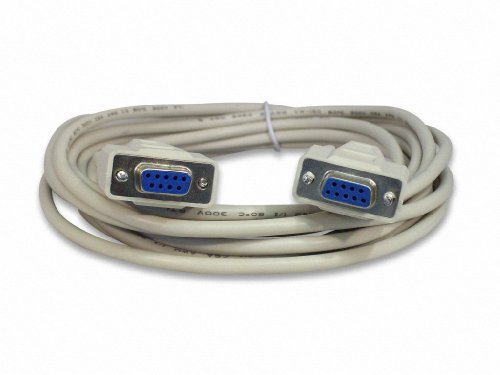 Your Cable Store 15 Foot DB9 9 Pin Serial Port Cable Female / Female RS232 ()