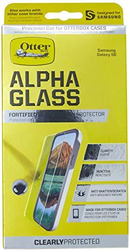 Película Protetora de Vidro Alpha Glass Galaxy S6, Otterbox, Película de Vidro Protetora de Tela para Celular, Transparente