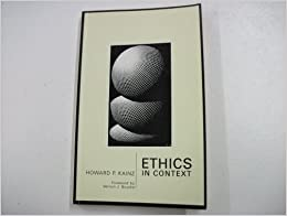 Ethics in Context