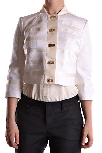Franchi Elisabetta MCBI113125O Algodon Mujer Chaqueta Blanco TxgPZn1