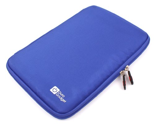 """DURAGADGET """"Tough"""" Blue Protective Shell Zip Case With Soft Felt Interior For OLPC XO-10 10.1"""" & Neocore N10 10.1 Inch Tablet PC (16GB, Dual Core, Android 4.2.2, 1GB RAM, HDMI, 10-point touch screen, UK Warranty)"""