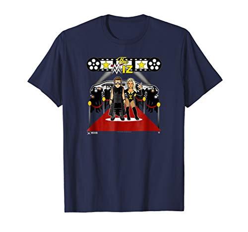 WWE NERDS - Miz and Maryse Red Carpet T-shirt (Tshirt Miz The)