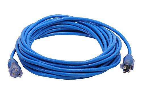 Milspec Direct 100-Foot 10/3 Blue Pro Glo Extension Cord ...