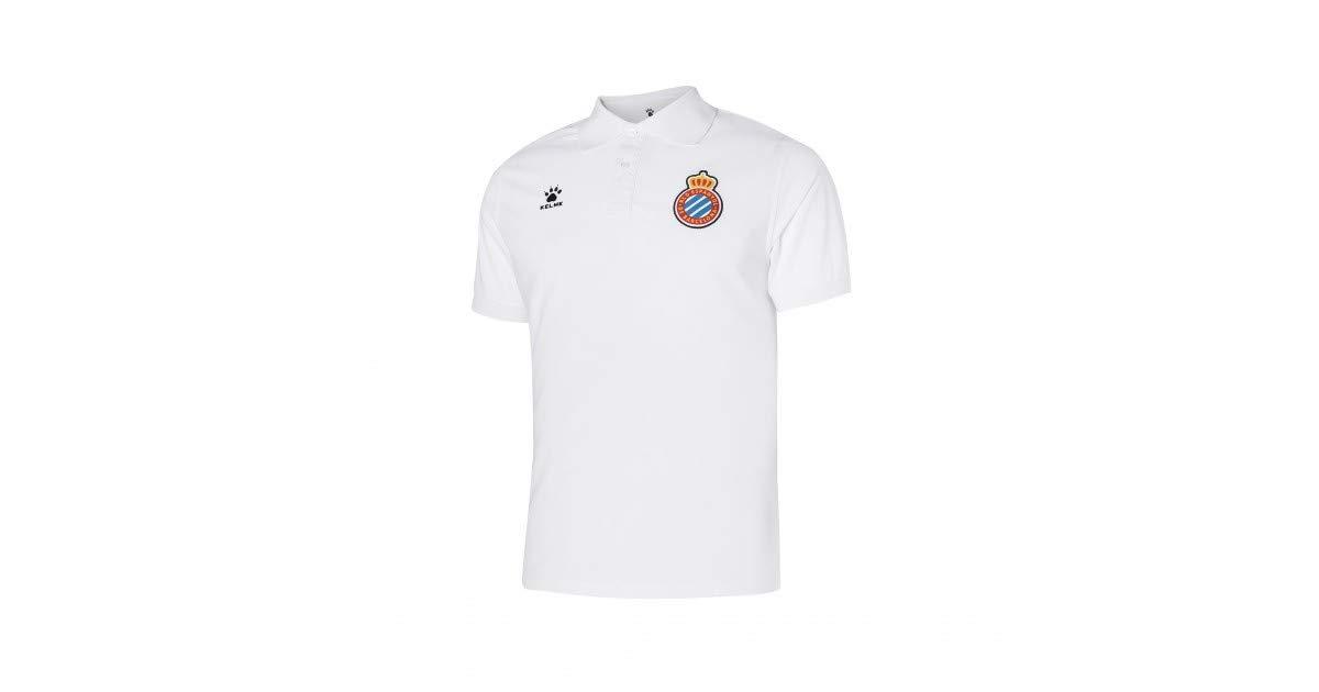 KELME Polo ENTRENO 18/19 R.C.D Espanyol: Amazon.es: Deportes y ...