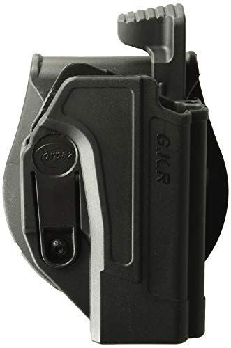 Orpaz Glock Thumb Release Holster Polymer Rotation Paddle with Tension Adjustment