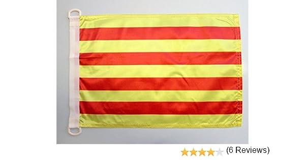 AZ FLAG Bandera Nautica de CATALUÑA 45x30cm - Pabellón de ...