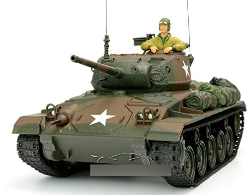 WWII USA M24 Chaffee 1/32 DIECAST Model Finished Tank Limited Edition FOV