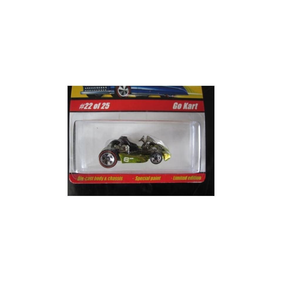 Go Kart (Spectraflame Antifreeze) 2005 Hot Wheels Classics Series 1 #22