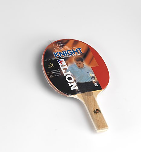 Lion Knight Reverse Table Tennis Bat - Red by Lion by Lion