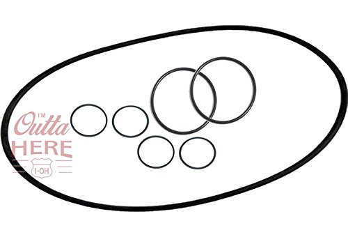 I'M OUTTA HERE I-OH FX5 / FX6 O-Ring Seal Kit Replacements for Fluval A-20207, A-20210, A-20212