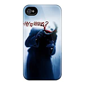 Anti-Scratch Cell-phone Hard Covers For Iphone 6plus With Allow Personal Design Fashion Joker Why So Serious Image AnnaDubois