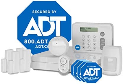 ADT DIY LifeShield 11-Piece Easy, DIY Smart Home Security System - Optional 24/7 Monitoring - No Contract - Wi-Fi Enabled - Alexa Compatible