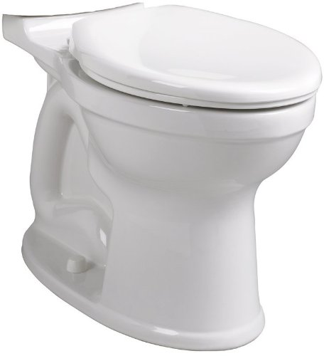 American Standard 3195B.101.020 Champion PRO Right Height Round Front Toilet Bowl, White