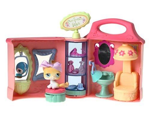 Amazon.com: Littlest Pet Shop Purr-Fection Salon: Toys & Games