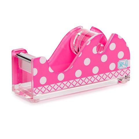 Roomlookz Acrylic Tape Dispenser Pink