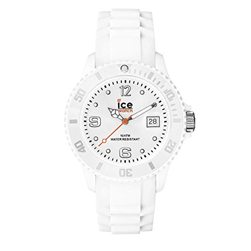 Ice-Watch – Ice Forever White – Men's (Unisex) Wristwatch with Silicon Strap
