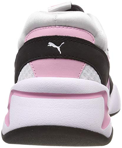 Bloc Pink Nova Pale Donna Puma Bianco Scarpe Ginnastica Da 90's H2WED9IY
