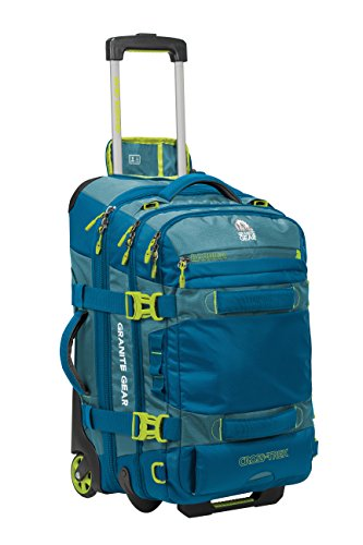 Granite Gear Cross-Trek 22'' Wheeled Carry-On Duffel - Bleumine/Blue Frost/Neolime by Granite Gear