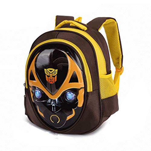 Bumblebee Transformers Captain America Children's School Backpack Teens Backpacks For Boys And Girls School Bags,Bumblebee-302612cm (Transformer Captain America)