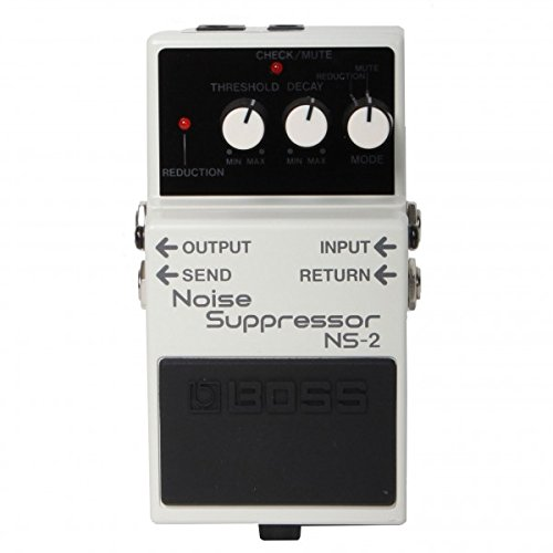 Boss NS-2 Noise Suppresor Pedal w/Bonus Patch Cord & RIS Picks (x3) 761294017838 by Rock Island Sound