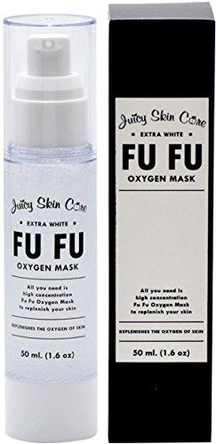 Fu Fu Oxygen Mask By Juicy Skin Care - Facial Mask Acne Oxygen Instant Energizing Mask (1.6 oz)