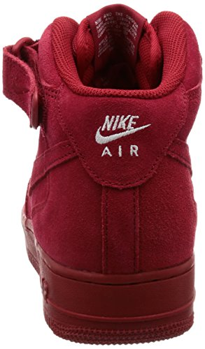 Nike Herren Air Force 1 Mid '07 Basketballschuh Gym Red / Gym Rot-weiß