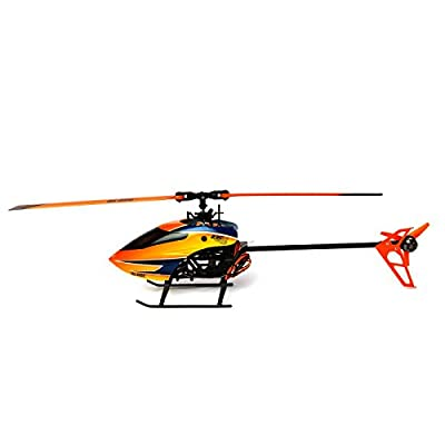Blade BLH1400 230 S V2 RTF RC Helicopter: Brushless Electric CP Heli with 2.4GHZ DXE Transmitter System, Orange by Horizon Hobby