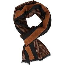 Sakkas 16128 - Kopa Long Mid Weight Soft Silk Fringe Patterned Pashmina Shawl / Scarf - Copper - OS