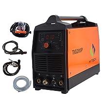 200A Inverter TIG Welder Pulse Digital High Frequency TIG Welding Machine MMA Stick Mosfet 60% D/C Welder Machine Digital Control