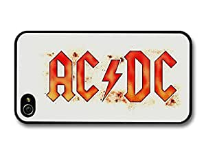 ACDC Red and Orange Logo White Background case for iPhone 6 4.7