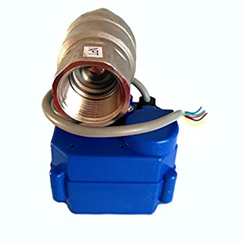 "Akent Motorized Ball Valve 3/4"" DC12V SS304 , Full bore,Electrical Ball Valve CR-02 (3/4"")"
