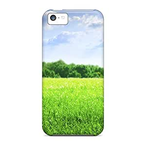 Anti-scratch And Shatterproof Greenfield Phone Case For Iphone 5c/ High Quality Tpu Case
