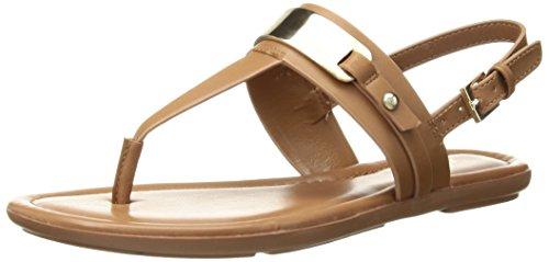 ALDO Women's NIGOLIAN Flat Sandal Cognac 7 B US
