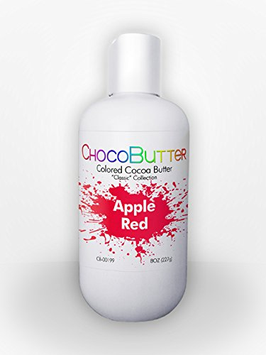 Apple Red - Colored Cocoa Butter