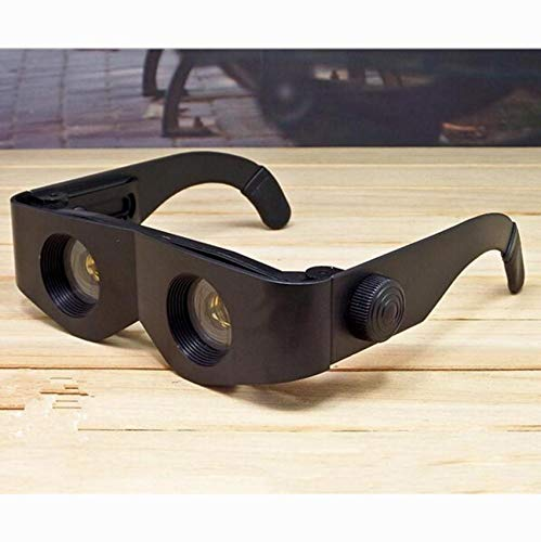(Agordo Chic Design Glasses Style Black Telescope Magnifier Binoculars Fish Accessory)