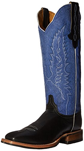 Cinch Classic Women's Meagan Riding Boot Black/Blue wVOSxE