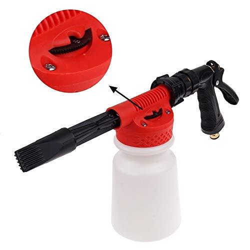 (1 piece 900ml Car Washing Foam Gun Car Cleaning Washing Snow Foamer Lance Car Water Soap Shampoo Sprayer Spray Foam for Car Motorcycle)