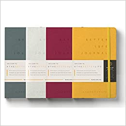 Dean Graziosi Better Life Journal Outcome Journaling 4 Pack Full Year Dean Graziosi 9780578596211 Amazon Com Books