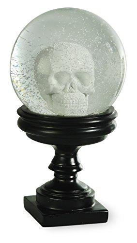 Boston International GAC16415 Albert's Skull SnowGlobe, Skull (Halloween Snowglobe)
