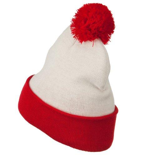 8741f5ab7ed Jual e4Hats.com Red White Long Beanie - Waldo Costume - Skullies ...